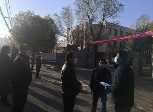 """新疆乌鲁木齐市生态环境局米东区分局开展""""绿色护考""""行动"""